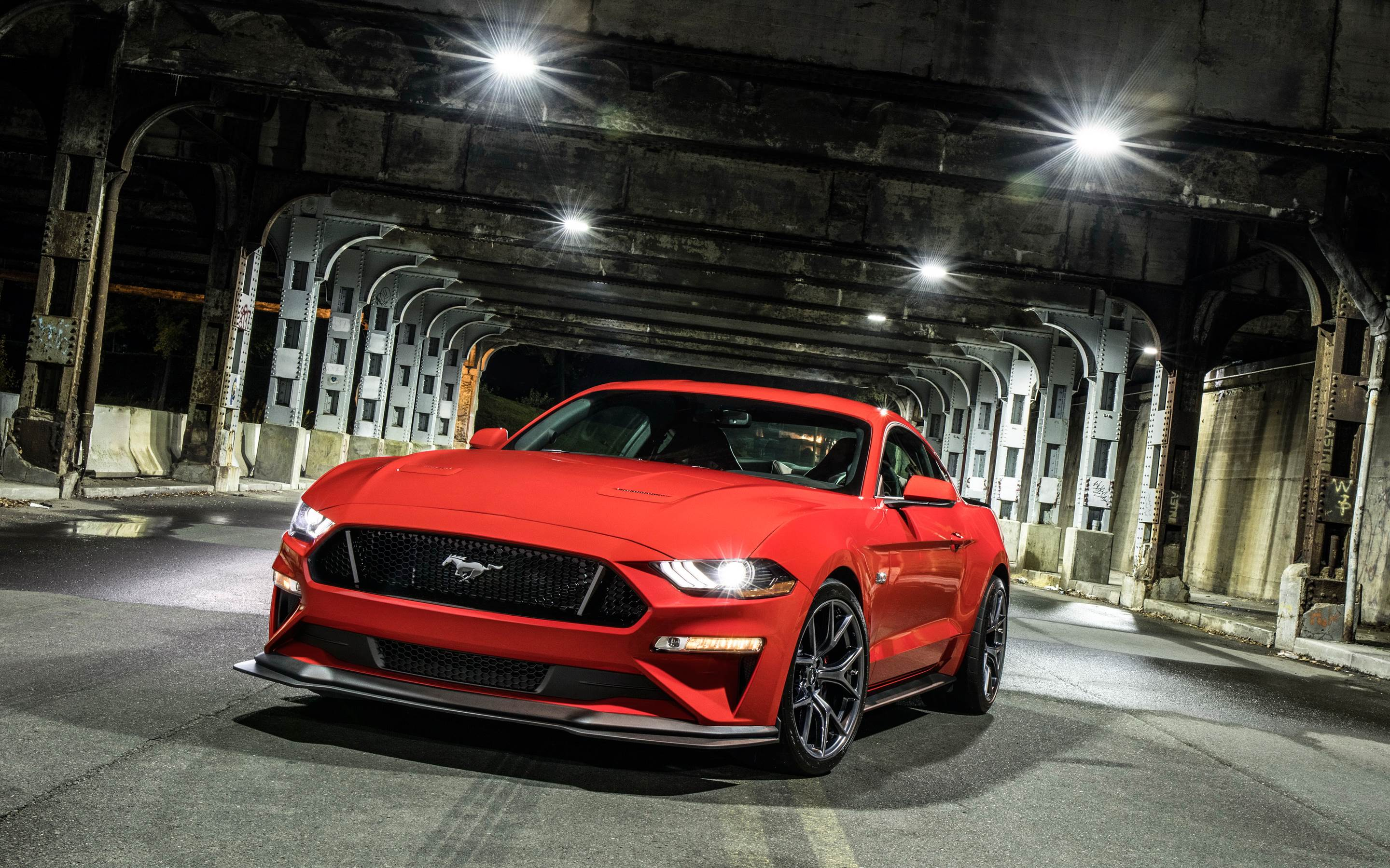 Ford Mustang GT Performance Pack Level 2 2018 Wallpaper