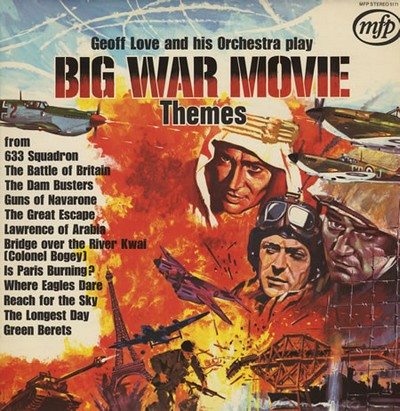 Download big war movie themes soundtrack by geoff love, his orchestra.