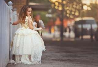 Beautiful clothes children girl