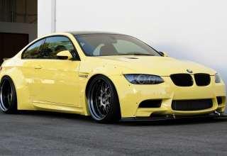 BMW E92 Yellow Wallpaper
