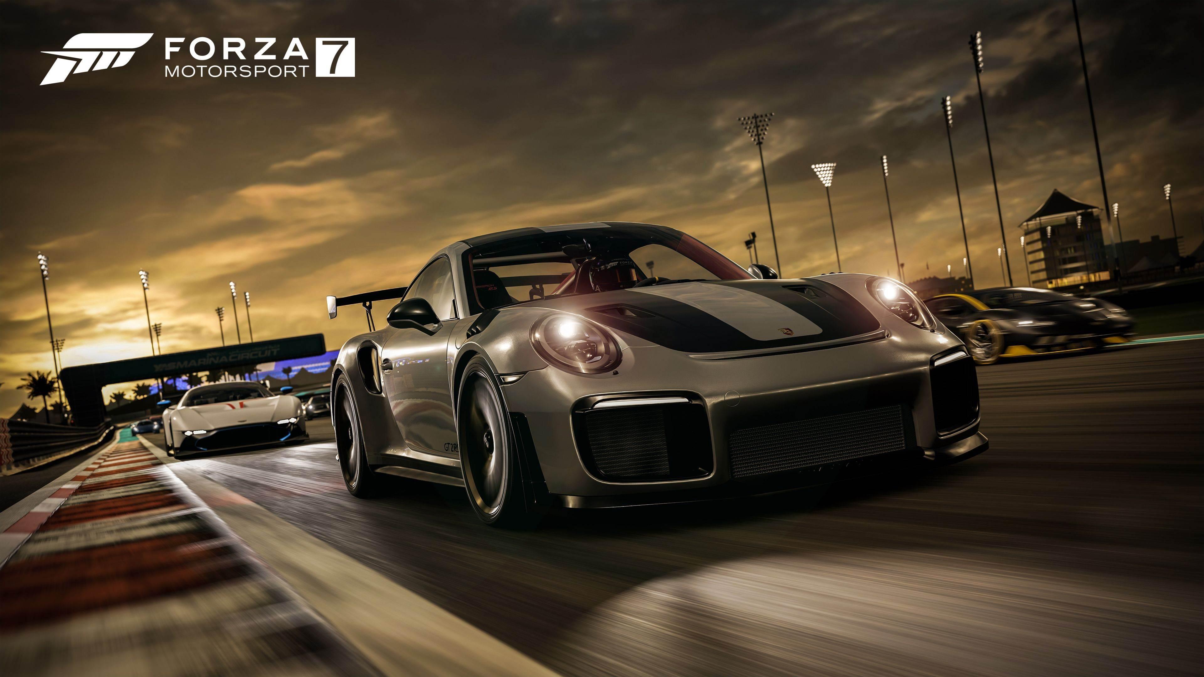 Forza Motorsport 7 Porsche 911 Gt2 Rs 4k Wallpaper