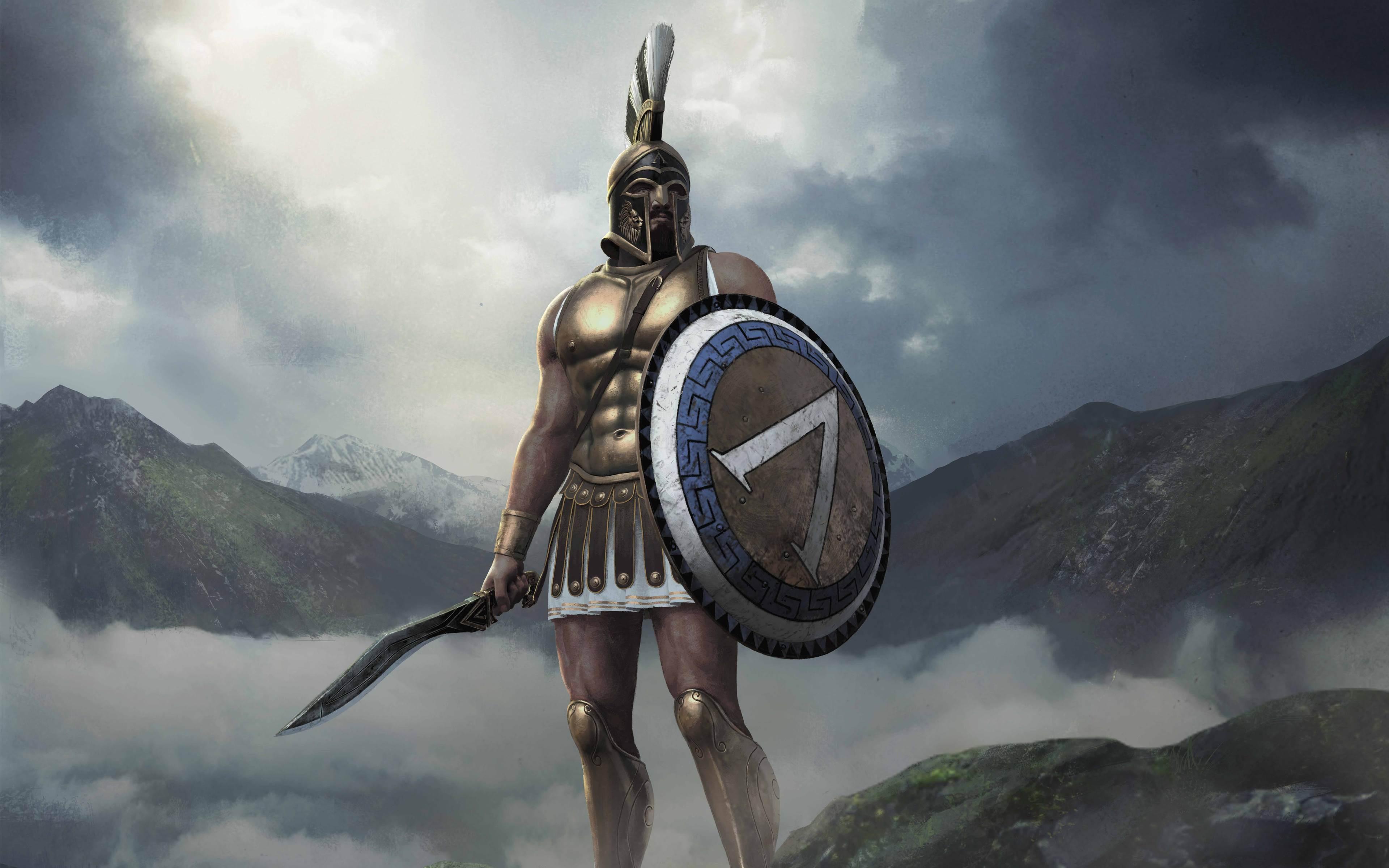 King Leonidas Total War: Arena Wallpaper