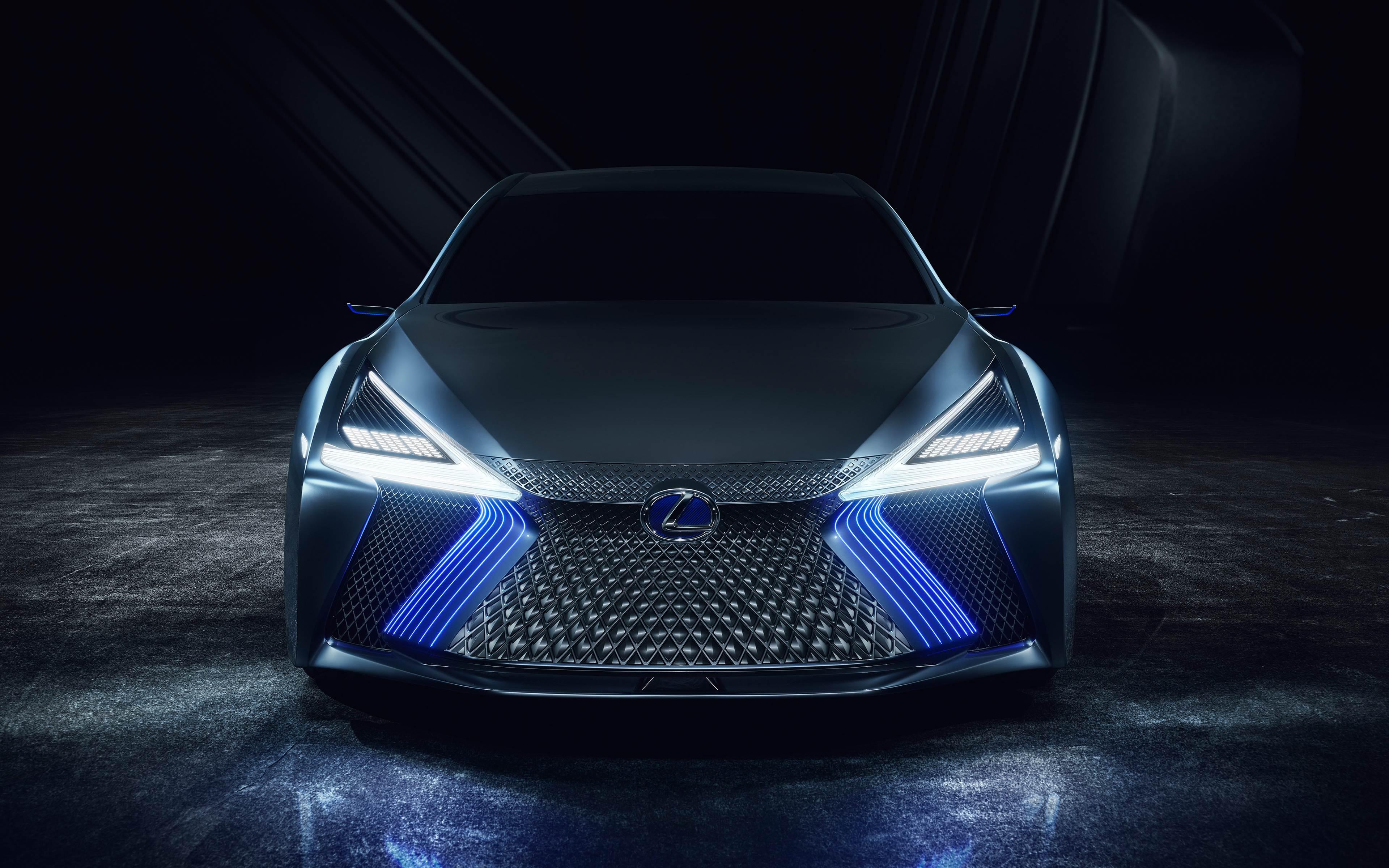 Lexus LS Plus Concept Wallpaper