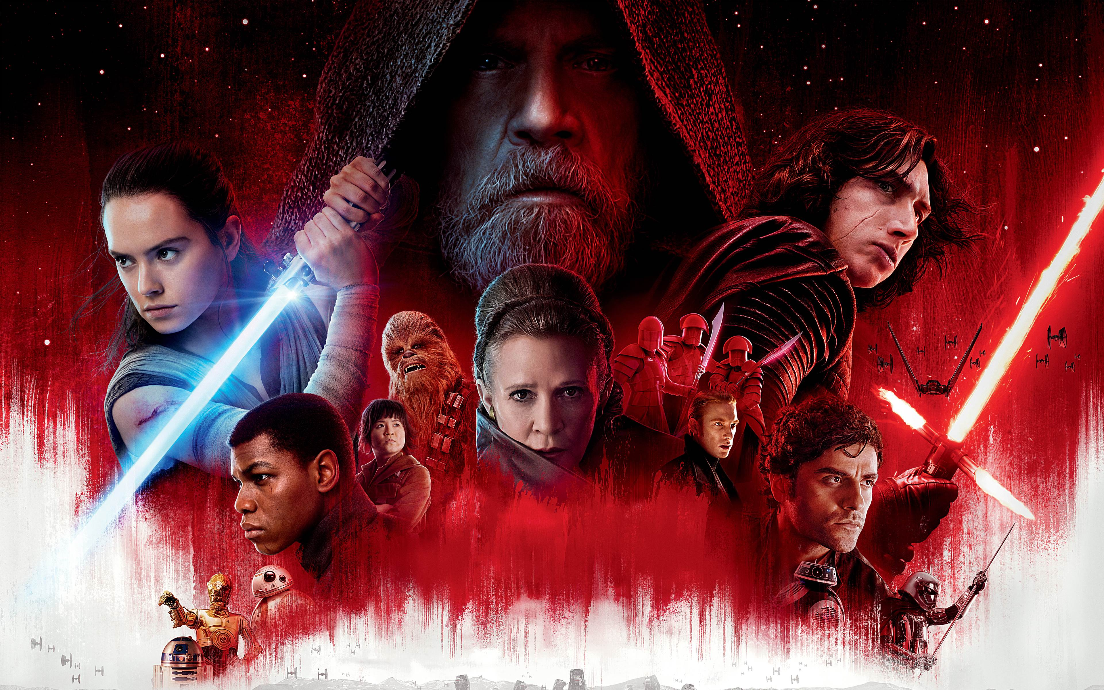 Star Wars: The Last Jedi Wallpaper