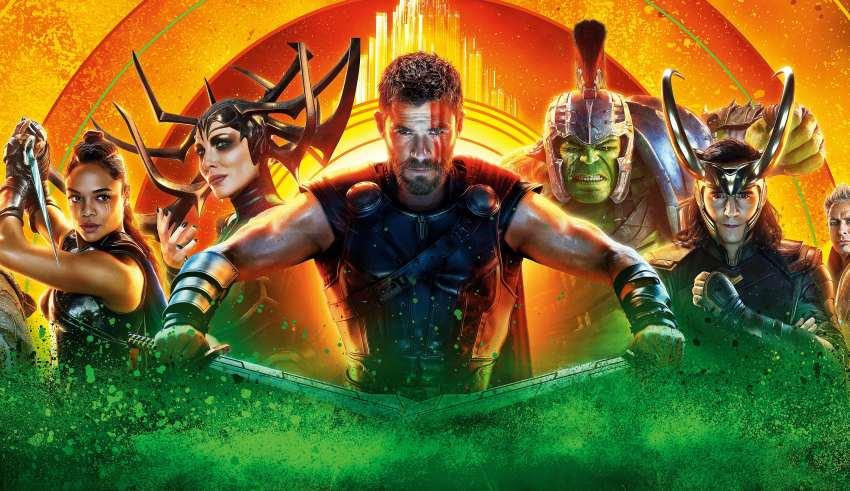 Thor: Ragnarok Art 5k Wallpaper