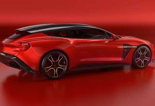 Aston Martin Vanquish Zagato Shooting Brake 4k Wallpaper