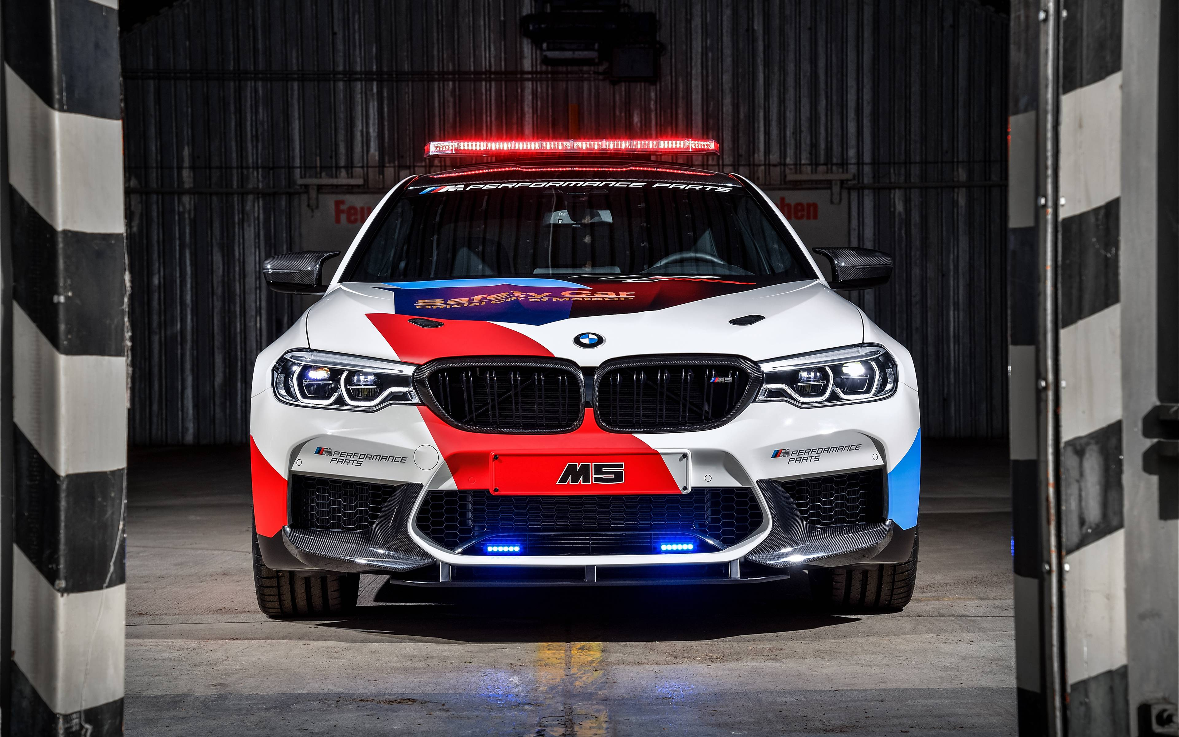 BMW M5 Motogp Safety Car 2018 4k Wallpaper