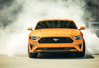 Ford Mustang GT Fastback Sports Car 2018 Wallpaper