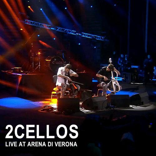 دانلود کنسرت جدید گروه 2CELLOS در سالن Arena di Verona کشور ایتالیا