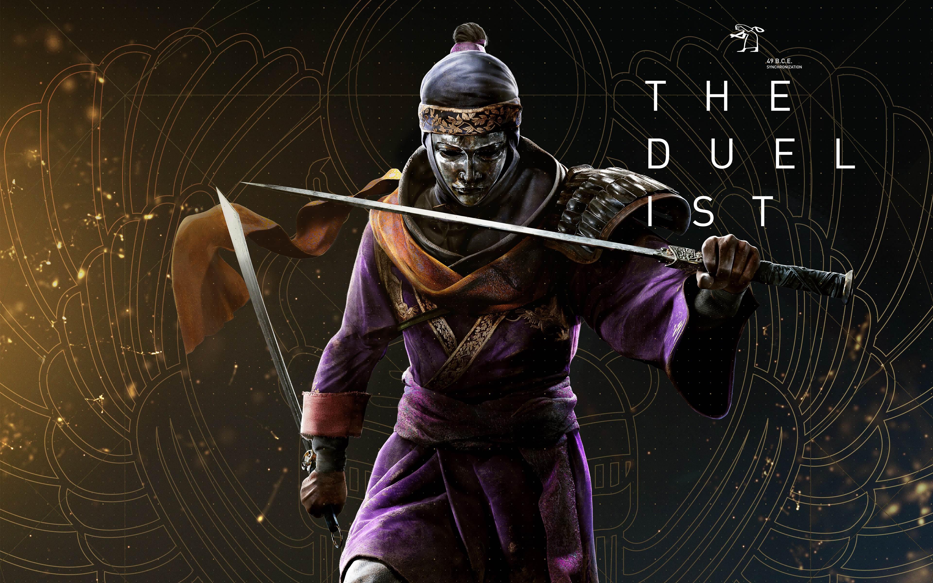 Assassins Creed Origins The Duellist 4k Wallpaper