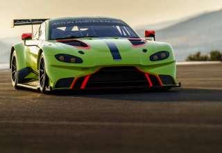 Aston Martin Vantage GTE 2018 4k Wallpaper