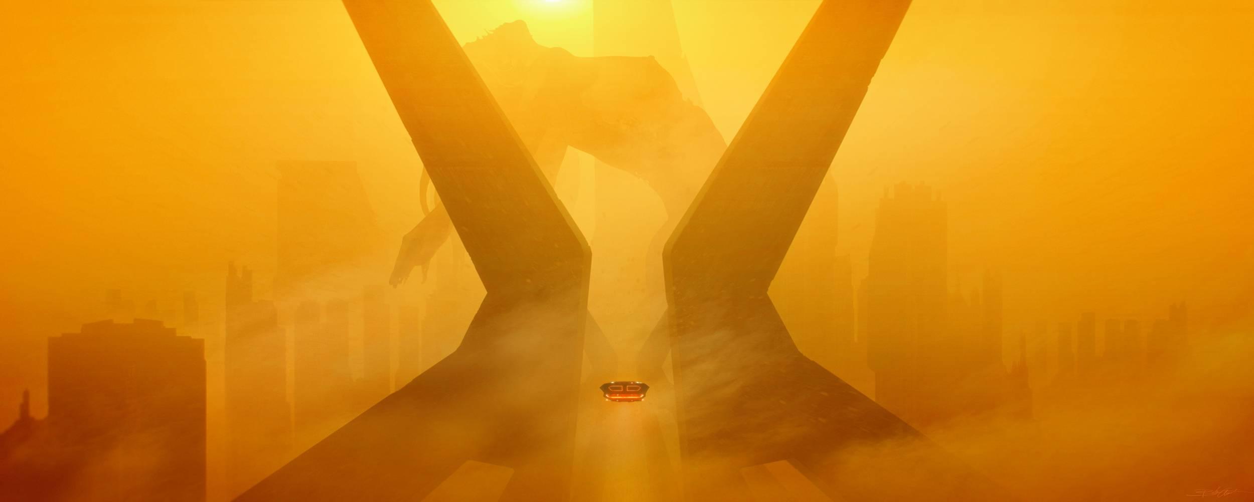 Blade Runner 2049 Fan Artwork Wallpaper