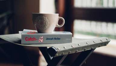 Cup Book Chair Vintage Wallpaper