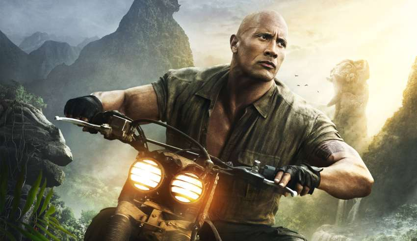 Dwayne Johnson In Jumanji: Welcome To The Jungle Wallpaper