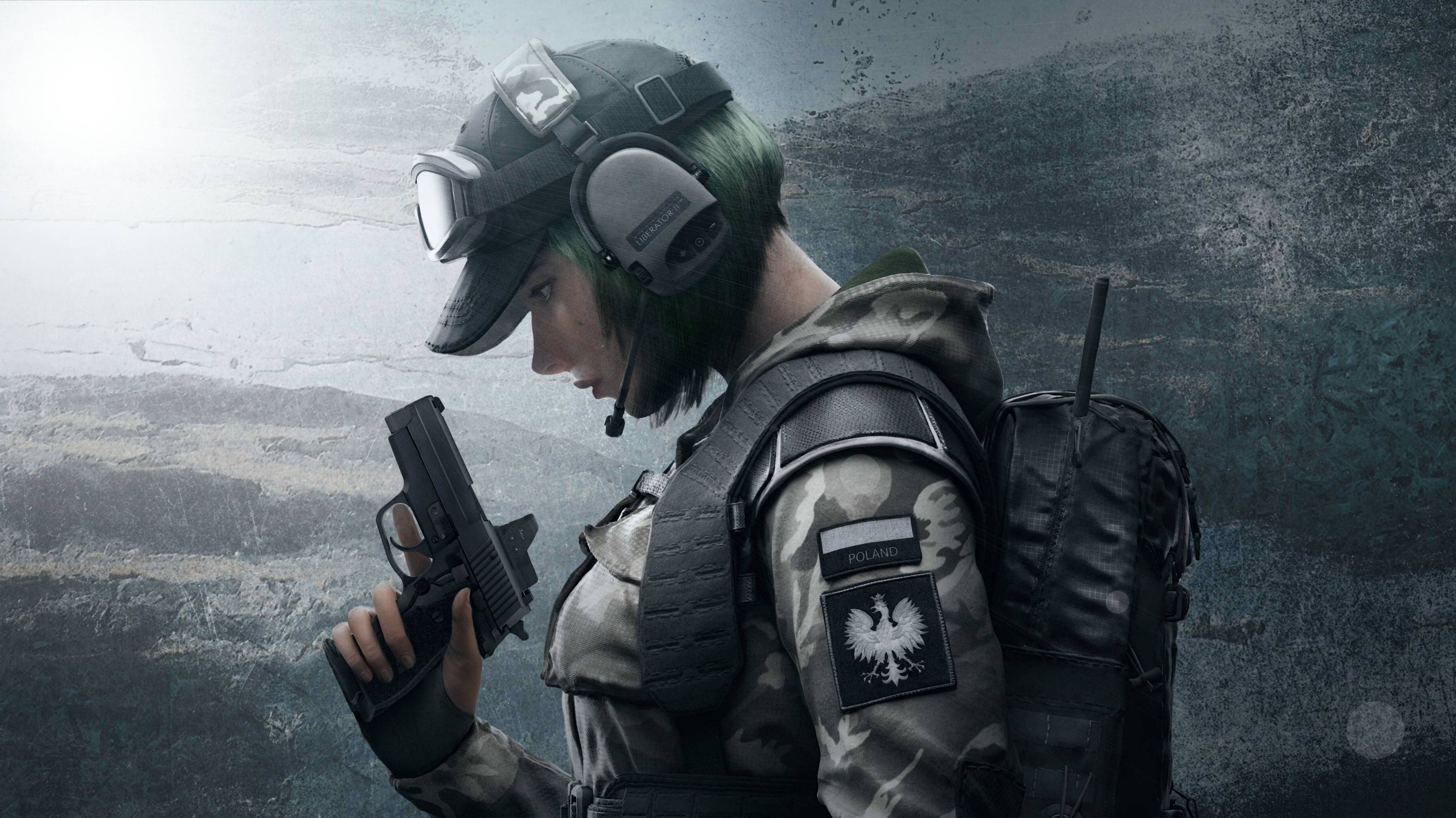 Ela Tom Clancys Rainbow Six Siege Wallpaper