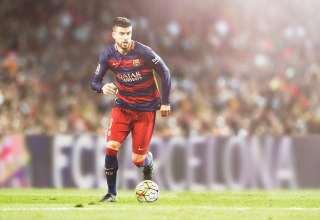 Gerard Pique FC Barcelona Wallpaper