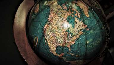 Globe Antiques Map Wallpaper