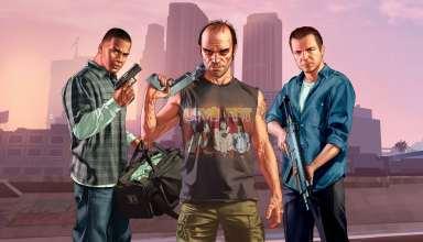 GTA 5 Franklin Michael Trevor Wallpaper