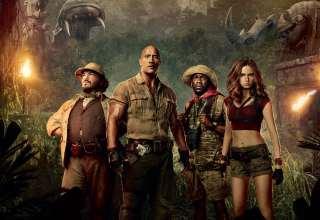 Jumanji: Welcome To The Jungle 2017 Movie Wallpaper