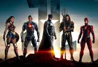 Justice League Movie Batman Wonder Woman Wallpaper