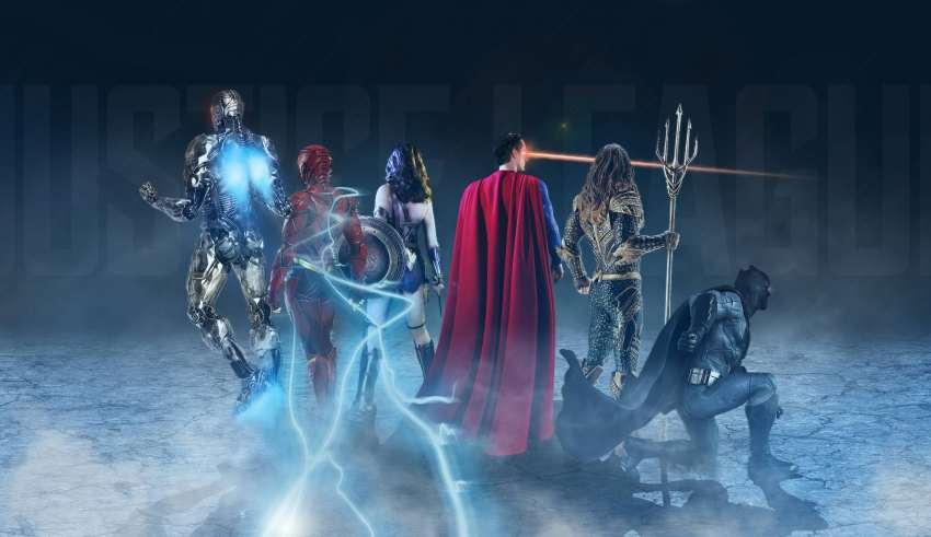 Justice League Superheroes Artwork Wallpaper