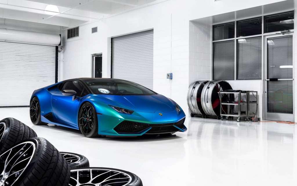 Lamborghini Huracan 4k Wallpaper