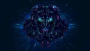 Lion Artwork Wallpaper