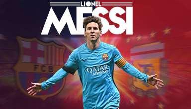 Lionel Messi FCB 4k Wallpaper