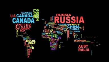 Map Country Globe World Wallpaper