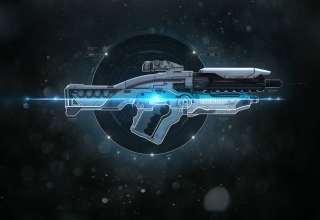 Mass Effect: Andromeda Ghost Assault Rifle Wallpaper