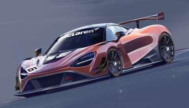 McLaren 720S GT3 Concept Wallpaper