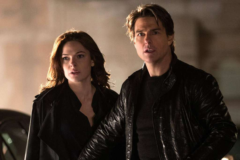 Mission Impossible 6 Tom Cruise, Rebecca Ferguson Wallpaper
