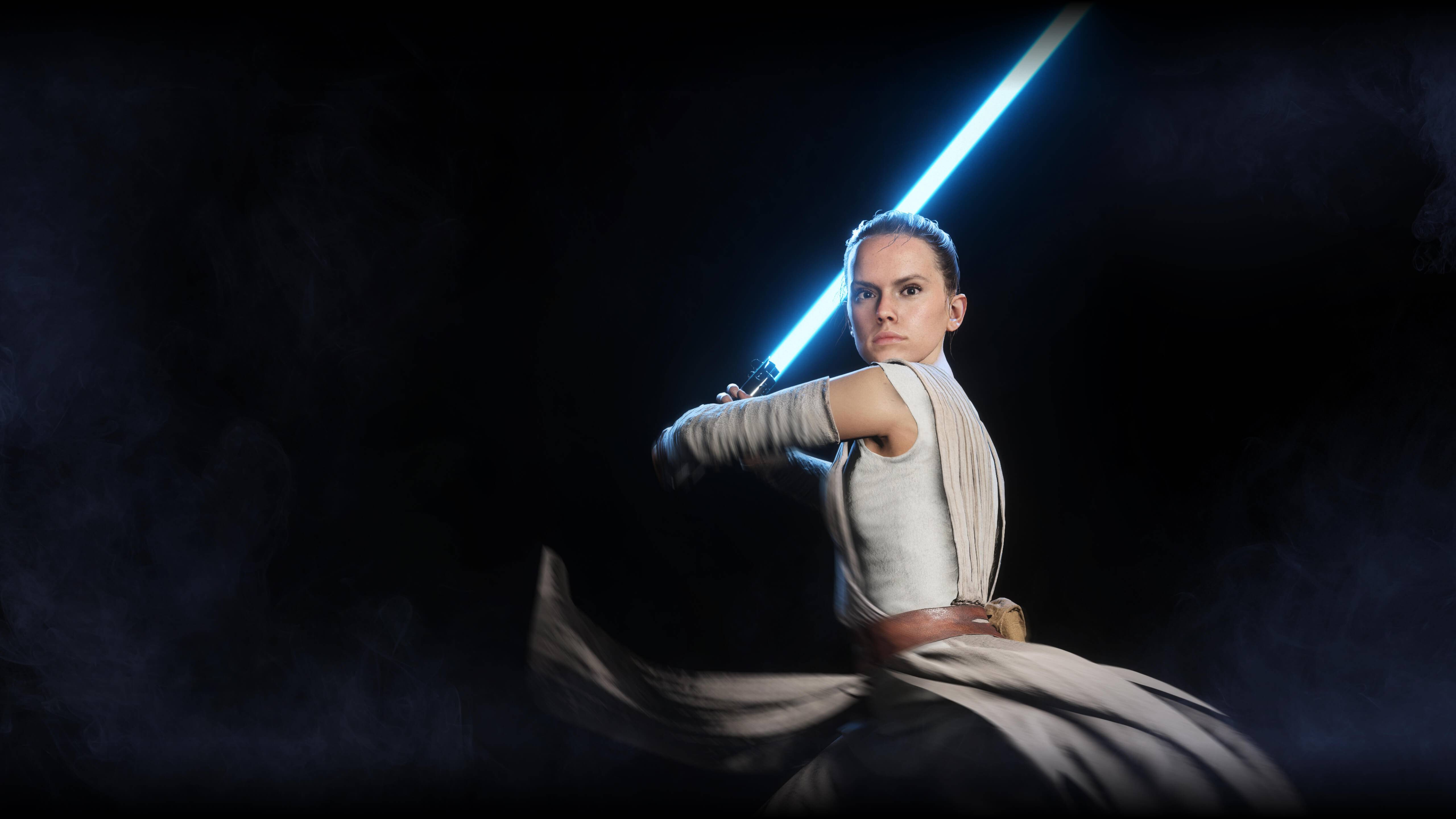 Rey Star Wars Battlefront Ii Wallpaper