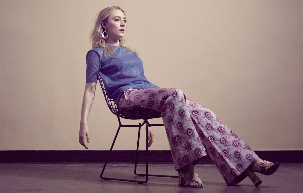 Saoirse Ronan Flaunt Photoshoot Wallpaper