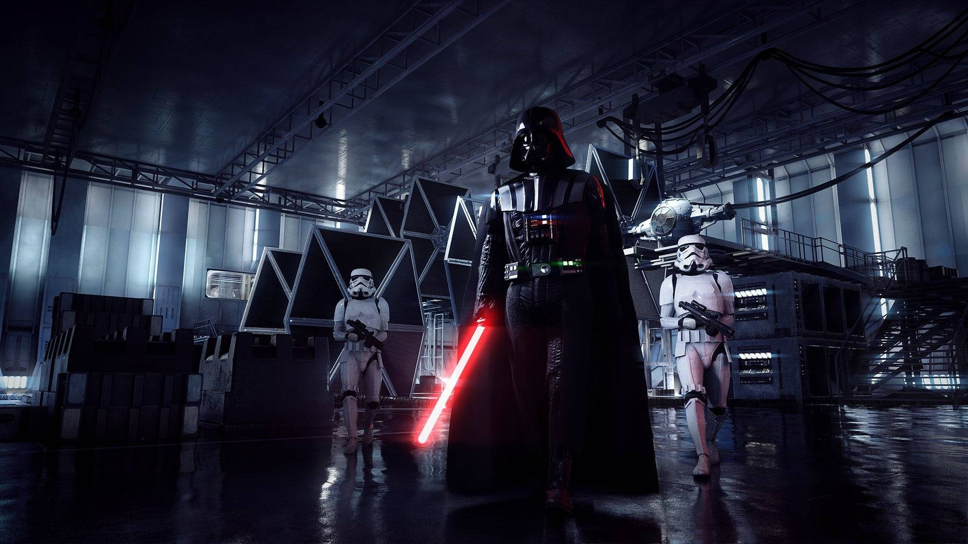 Star Wars Battlefront Ii Darth Vader Wallpaper