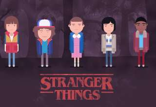 Stranger Things 2017 Wallpaper