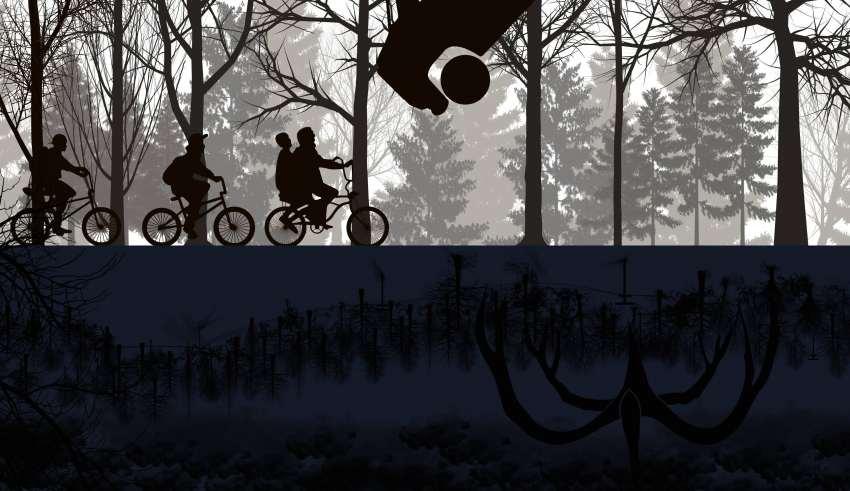 Stranger Things Season 2 Artwork Wallpaper