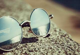 Sunglasses Reflection Sun Wallpaper