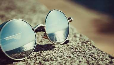 Sunglasses Reflection Sun Wallpaper