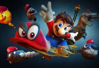 Super Mario Odyssey Nintendo Switch 2017 Wallpaper