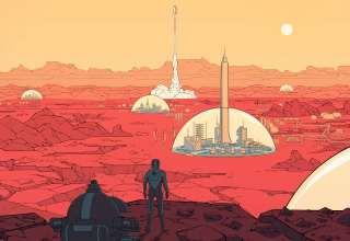 Surviving Mars Video Game 2018 Wallpaper