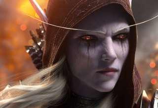Sylvanas Windrunner World of Warcraft: Battle For Azeroth Wallpaper