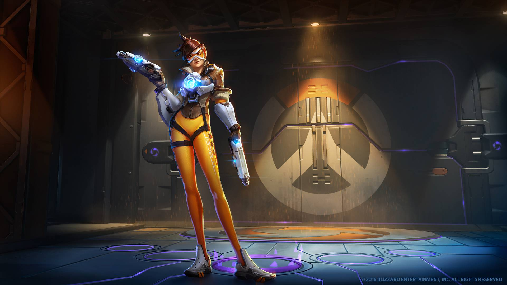 Tracer Overwatch Wallpaper