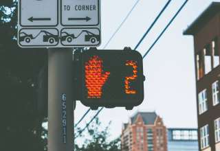 Traffic Light Direction Signs Wallpaper