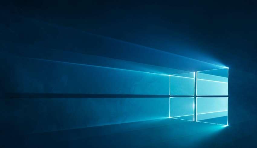 Windows 10 Logo Blue Wallpaper