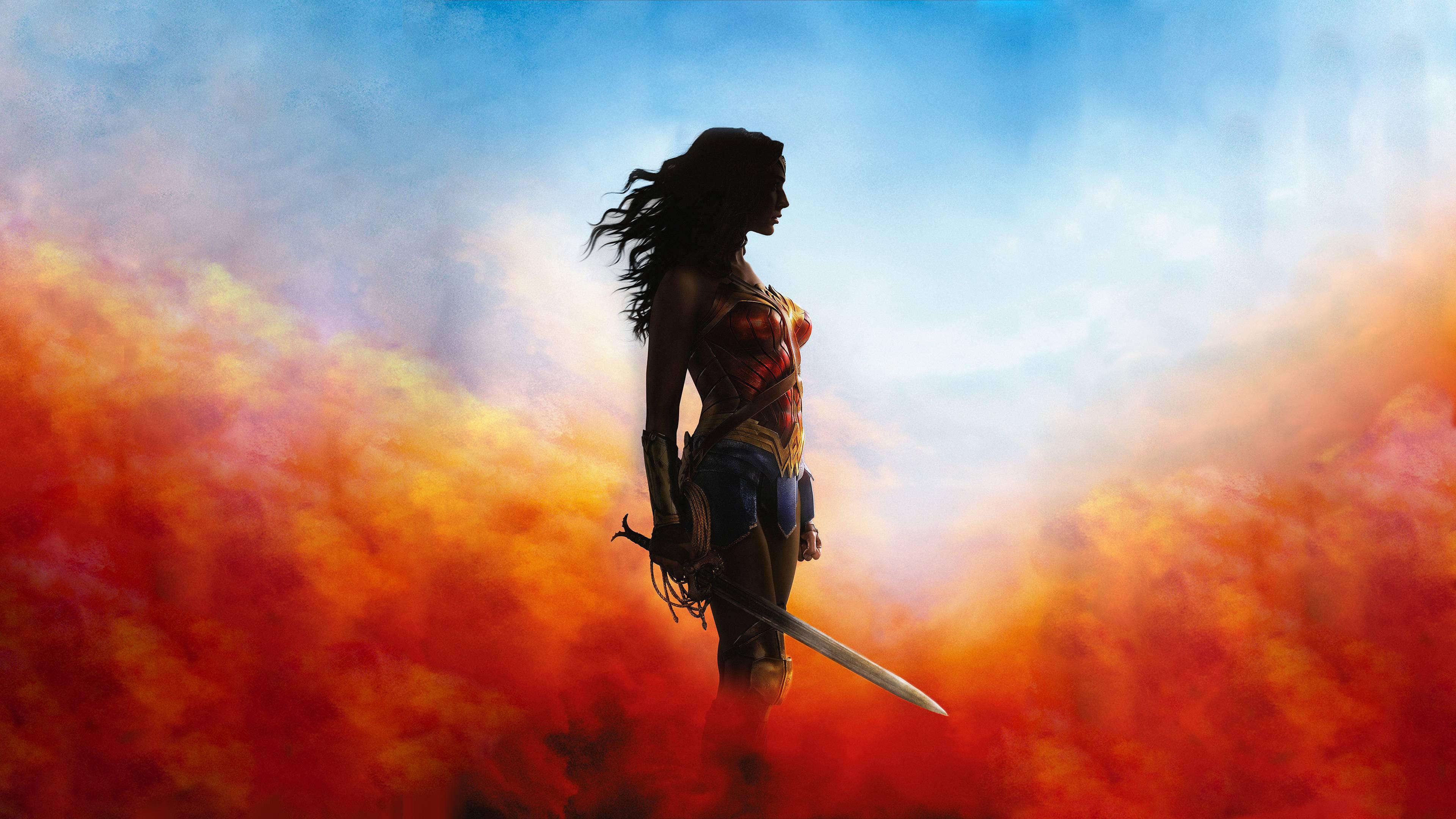 Old Music Score 4k Hd Desktop Wallpaper For 4k Ultra Hd Tv: Wonder Woman 4k Wallpaper
