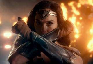 Wonder Woman in Justice League 2017 Wallpaper