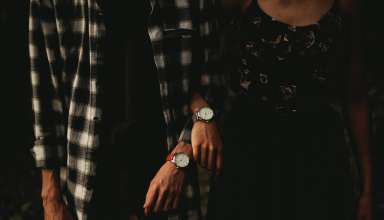 Wrist Watch Pair Hands Wallpaper