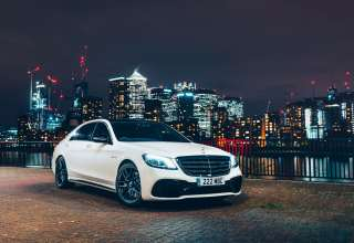 Mercedes AMG S63 4matic 2017 4k Wallpaper