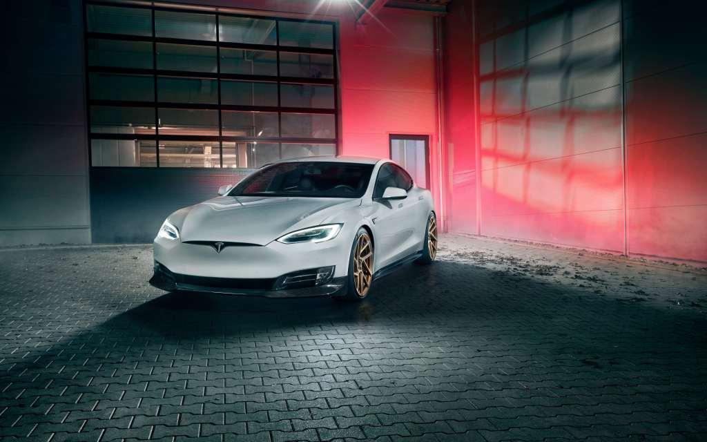 Novitec Tesla Model S 2017 4k Wallpaper
